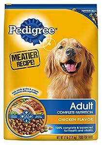 PEDIGREE Adult Complete Nutrition Chicken Flavor Dry Dog Food, 17 lb. Bag (Pack of 1)