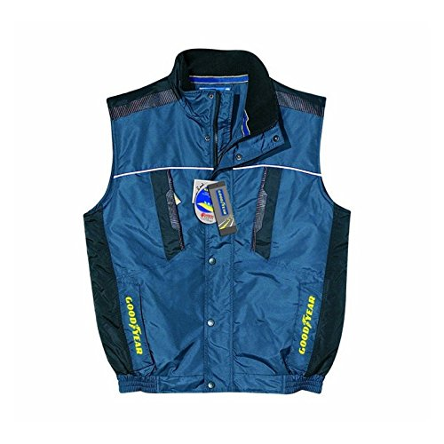 GILET GOODYEAR IN TESSUTO OXFORD IMPERMEABILE G137/8977 BLU M