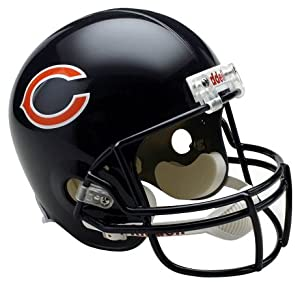 NFL Chicago Bears Deluxe Replica Football Helmet by Riddell