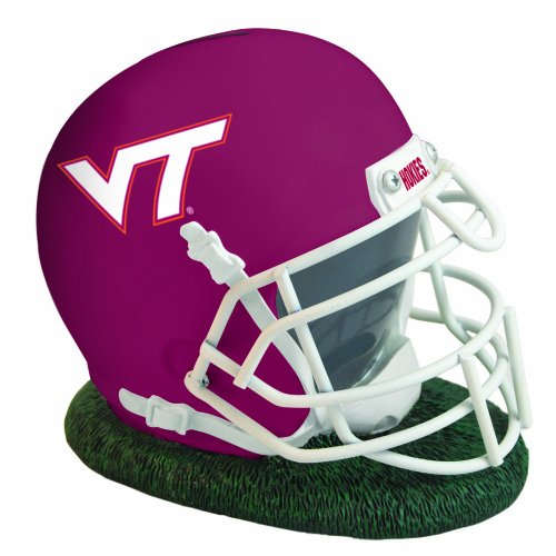 NCAA Virginia Tech Helmet Shaped Bank