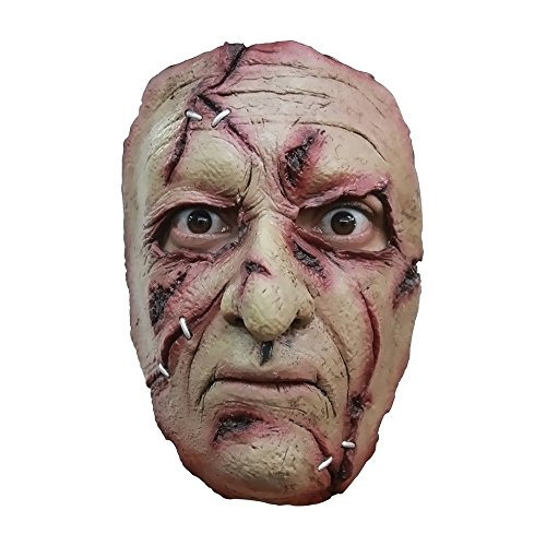 Morris Costumes Halloween Party Cosplay Serial killer 28 Latex Face Mask