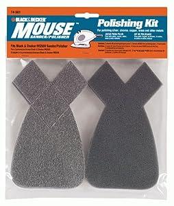 black decker 74 581 mouse polishing kit detail sander. Black Bedroom Furniture Sets. Home Design Ideas