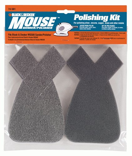 Black & Decker 74-581 Mouse Polishing Kit