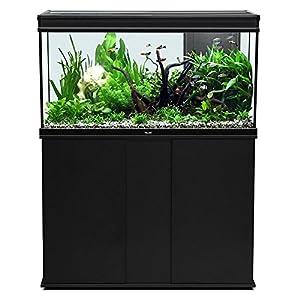 Aqualantis elegance plus 120 aquarium fish tank cabinet for Aquarium elegance