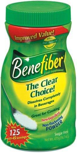 Benefiber Fiber Supplement, Sugar Free, 16.7oz