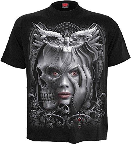 Spiral -  T-shirt - Donna Black X-Large