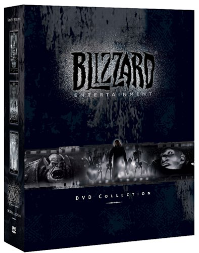 Blizzard Entertainment DVD Collection (Cut scenes for Diablo II Warcraft III and Starcraft)