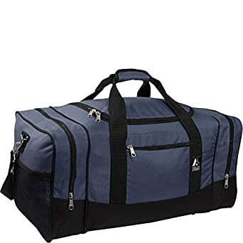 Everest Luggage Sporty Gear Bag (OneSize, Navy)