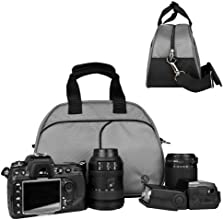 VanGoddy Digital SL RCamera Accessories Slate Gray Mythra Camera Bag for Canon EOS 5D MK II with Can
