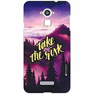 Coolpad Note 3 Back Cover - Silicon Take Risk Designer Cases