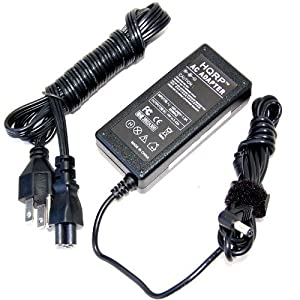 HQRP Netbook AC Adapter/Charger/Power Supply Cord for Toshiba Mini NB305 NB305-N310 NB305-N411BL NB305-N411BN NB305-N413BN NB305-N415BL + Coaster