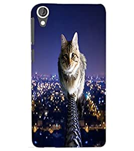 HTC DESIRE 820 CAT Back Cover by PRINTSWAG