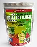 Belly FAT Flush Shake with Garcinia,raspberry Ketones, Green Tea,moringa by Natural Herbs
