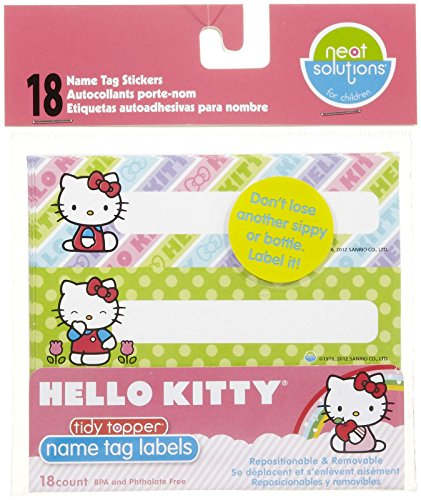 Neat Solutions Cup Label Stickers - Hello Kitty - 18 ct