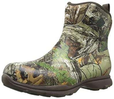 MuckBoots Men's Excursion Pro Mid Sneaker,Realtree Xtra,8 M US