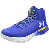 Under Armour Men's Curry 3Zero Basketball Shoes (Team Royal/White/White)
