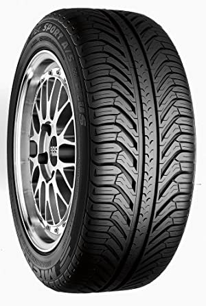 Michelin Pilot Sport A/S Plus Radial Tire – 245/45R17 95Z