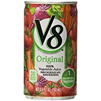 48-Pack V8 5.5 Ounce 100% Vegetable Juice Cans (Original)