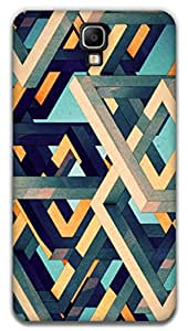 The Racoon Grip printed designer hard back mobile phone case cover for Samsung Galaxy Note 3 Neo. (illusion)