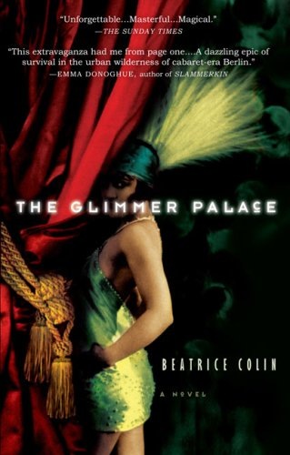 Glimmer Palace by Beatrice Colin book cover historical fiction