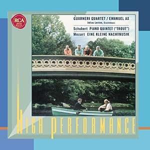 """Schubert: Piano Quintet in A """"Trout""""; Mozart: Eine kleine Nachtmusik"""