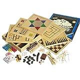 """Philos 3102 - Holz-Spielesammlung mit 100 Spielm�glichkeitenvon """"Philos Spiele"""""""