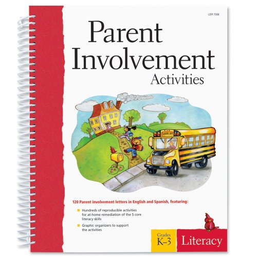 Learning Resources Parent Involvement Activities: Literacy, Grades K-3 front-228212
