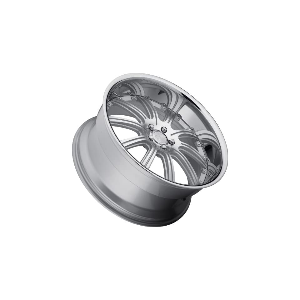 Concept One 748 RS 10 Silver Machined Wheel (22x9.0/5x120mm)