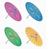 """""""Assortment or six (6) 30"""""""" Large Asian Silk Umbrella / Parasol"""""""