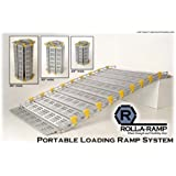 Roll-A-Ramp Roll-Away Ramp - Up to 38in. Rise, 875-Lb. Capacity, 10ft.L x 30in.W, Model# A13009A19