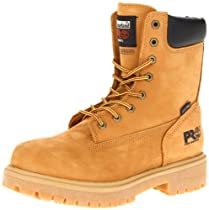 "Hot Sale Timberland PRO Men's Wheat 26011 Direct Attach 8"" Soft-Toe Boot,Yellow,11 M"