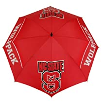 NCAA North Carolina State Wolfpack 62-Inch WindSheer Hybrid Umbrella