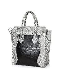 Neeshi Women's Handbag Black White (C-10)