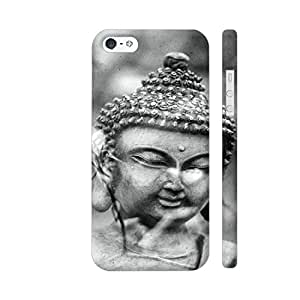 Colorpur Buddha Asia Yoga Zen Black And White Artwork On Apple iPhone SE Cover (Designer Mobile Back Case) | Artist: WonderfulDreamPicture