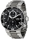 Oris Men's 01 674 7655 7184-Set Carlos Coste Black Dial Watch from Oris
