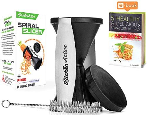 Kitchen Active Spiralizer, Black (My Perfect Pasta Maker compare prices)