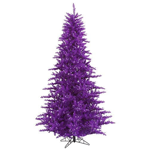 3' Decorative Purple Fir Artificial Medium Profile Christmas Tree - Unlit