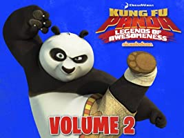 Kung Fu Panda: Legends of Awesomeness Volume 2