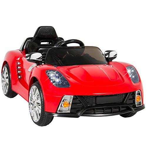 Best Choice Products Kids 12V Ride On Car with MP3 Electric Battery Power, Red (Ride On Battery Car compare prices)