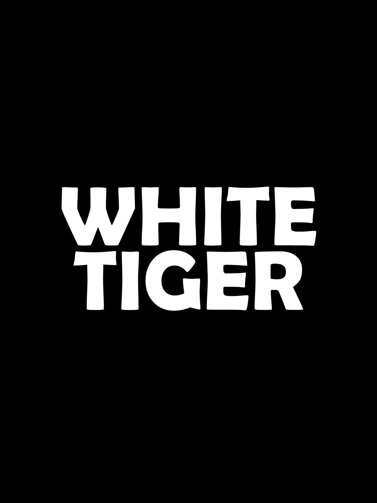 White Tiger on Amazon Prime Instant Video UK