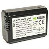 Wasabi Power Battery for Sony NP-FW50 and Sony Alpha Limited Models
