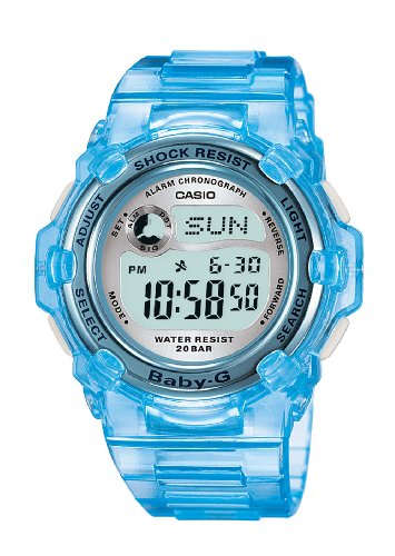 Casio Women's BG3000-2 Baby-G Light Blue Digital Sport Watch