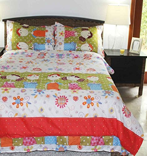 Multiple Sizes - Girls Comforter Set - Friends - Kids Style-Full- Exclusively By Blowout Bedding Rn #142035 front-753912