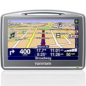 Us Electronics - TomTom Go 920 Car GPS With Voice Recognition US Canada Europe Map1M00980