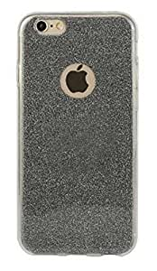 Novo Style Luxury Fashion Bling Sparkling Glitter Soft Back Cover Case For Apple iPhone 6- Black