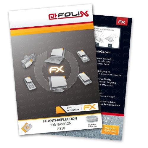 atFoliX FX-Antireflex Displayschutzfolie für Navigon 8310