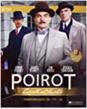 Agatha Christie's Poirot collection seasons 10-12 [Blu-ray] [UK Region Spanish Import]