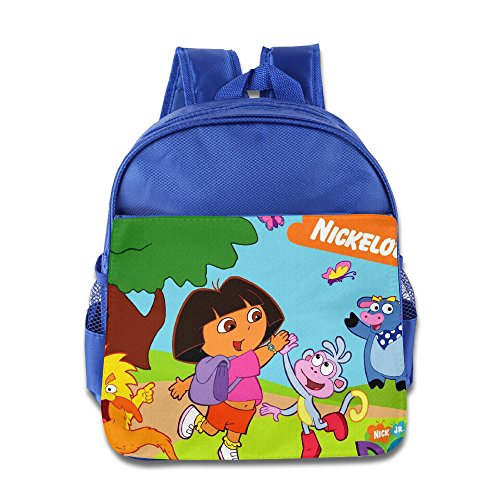 [Dora's Greatest Adventures Toddler School Backpack RoyalBlue] (Dora Diego And Boots)