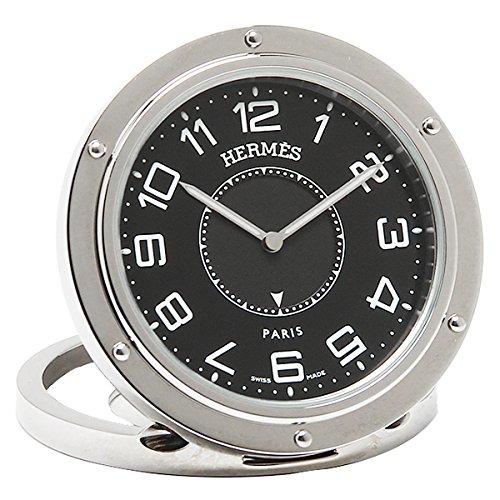 (エルメス) HERMES エルメス 置時計 メンズ/レディース HERMES CL1.510.330 クリッパー リーベル 腕時計 ウォッチ シルバー/ブラック[並行輸入品]