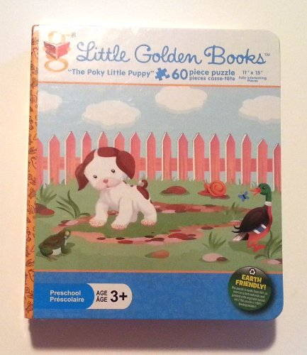 "Little Golden Books ""The Poky Little Puppy"" 60 Piece Puzzle"